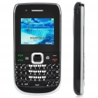 "E6 2.0"" LCD Screen Dual SIM Dual Network Standby Quadband Qwerty Cellphone w/ Flash light + TV + FM"