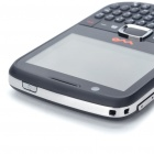 "ZTE UX990 WCDMA 3G QWERTY Phone w/ 2.4"" Touch Screen, Dual SIM + JAVA - Black"