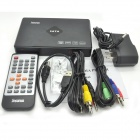 Portable 1080P Full HD Media Player with HDMI / VGA / AV / YPbPr / USB / SD - Black