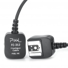 FC-312/L Off-Camera Flash Sync Cable Cord for Nikon DSLR (10M-Length)
