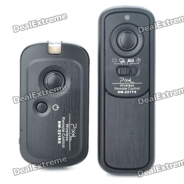 FSK 2.4GHz 16-Channel Wireless Shutter Release Remote Control for Nikon D90/D5000/D7000