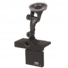 1.0MP Wide Angle Car DVR Camcorder w/ AV-Out/SD Slot (2.7