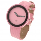 Stylish Simple Quartz Wrist Watch - Pink (1 x 1.55V)