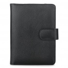 Stylish PU Leather Protective Carrying Case with Multi-Card Slots for Kindle 4 - Black