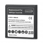 Replacement 3.7V 1800mAh Li-Ion Battery for Samsung Epic 4G Touch
