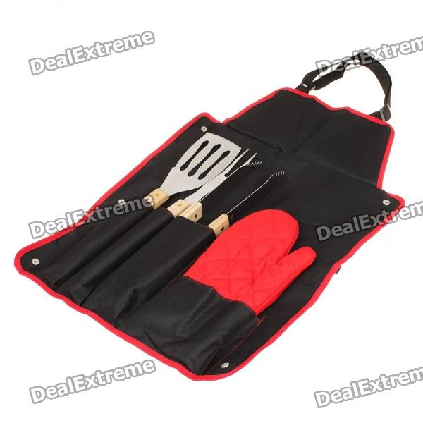 Portable Outdoor BBQ Barbecue Tool Kit
