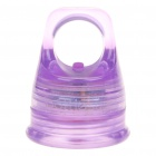 Creative Replacement 28mm 50LM 2-Mode 1-LED White Light Bottle Cap - Purple (2 x CR2032)