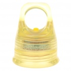 Creative Replacement 28mm 2-Mode 1-LED 5-LM White Light Bottle Cap - Yellow (2 x CR2032)