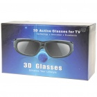 Universal USB Rechargeable Bluetooth 3D Active Shutter Glasses - Black