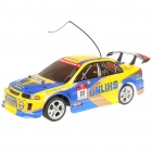 Cool R/C Model Racing Car w/ Remote Control - Yellow (Size-L)