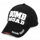 Embroidered Bomb Squad Pattern Cotton Fabric Baseball Hat/Cap (Random Color)