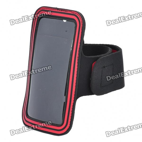 Universal Sporty Armband for Cell Phones universal nylon cell phone holster blue black size l