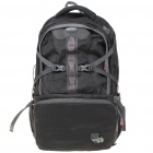 Fashion Backpack Double-Shoulder Bag - Black