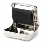2-in-1 Stainless Steel Automatic Cigarette Roller + Storage Box (70mm)