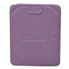 Stand Holder Style Protective Case for iPad/iPad 2 - Purple