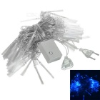100-LED Decorative Holiday Fibre Optic Lights (9.2-Meter 220V AC / Blue)