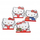 Cute Hello Kitty Pattern Note Pad Notebook Paper - Random Style (4-Piece Pack)