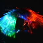 100-LED Decorative Holiday Fibre Optic Lights (9.2-Meter 220V AC / Multi-Color)