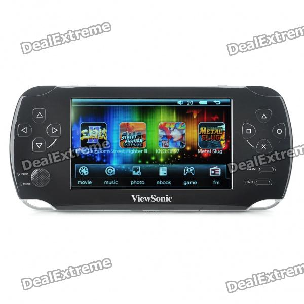 "4,3 ""Touch Screen Win CE Net 6.0 Core-Konsole Media Player w / Kamera / FM / TV-Out / TF - Black (4GB)"