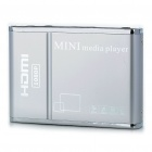 Mini 1080P Full HD Media Player w/ SD/USB/HDMI/AV/YPbPr - Silver