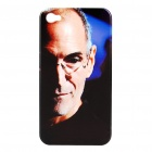Remembering Steve Jobs Protective Plastic Back Case for iPhone 4 - Black