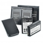 Replacement 3500mAh Battery + 1230mAh Battery + Back Case + Decoders for Blackberry 9900