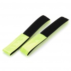 Velcro Light Reflection Arm Band for Night Cycling - Green (2PCS)