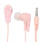 3.5 mm In-ear Slipper Style Stereo Earphone - Pink