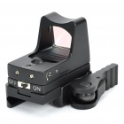 0.08mW 650nm Tactical Red Dot Sight Rifle Scope Gun Mount (1 x CR2032)