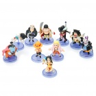 Cute Cartoon One Piece Figures Set (10-Figure Set)