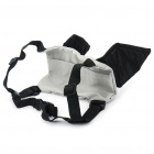 Useful Bat Style Kids Safety Harness Backpack - Black + Grey