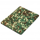 Camouflage Nature Rubber Mouse Pad Mat - Green