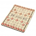 Chinesisches Schach Pattern Nature Rubber Mouse Pad Mat - Light Brown