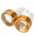 T20 4W 6500K 120-Lumen 2-5050 SMD LED White Light Car Reversing Lamps (DC 12V/Pair)