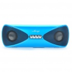 AESOP USB Rechargeable MP3 Player Speakers w/ SD/USB - Blue