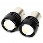 1156 4W 6500K 120-Lumen 2-5050 SMD LED Convex Lens White Light Car Lamps (DC 12~24V/Pair)
