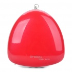 Portable Fashion Music Speaker Player with FM/AUX/TF - Red