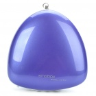 Portable Fashion Music Speaker Player with FM/AUX/TF - Blueberry Purple