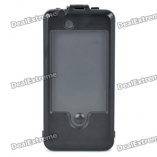 Bicycle Bike Plastic Mount Holder Case for iPhone4 / 4S - Black