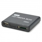 Mini 1080P HD Media Player with HDMI/AV/USB/SD/MMC - Black