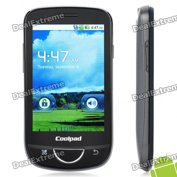 "Coolpad W706 3.5"" Capacitive Android Froyo 2.2 Single SIM 3G WCDMA Smartphone w/ WiFi + GPS + FM"
