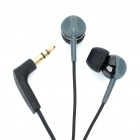 Designer's In-Ear Stereo Earphone - Black (3.5mm Jack/107cm-Cable)