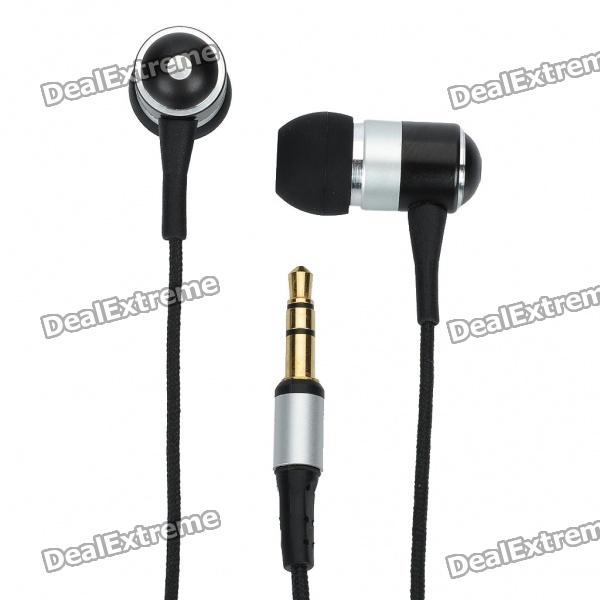 Awei ES-Q3 Fashion 3.5mm In-Ear Stereo Earphone for IPHONE - SilverHeadphones<br>Cool ultra compact lightweight and fashionable design in-ear earphone will give you high-performance sound with maximum comfort. Built with high-performance speakers for extended frequency range lower distortion and high power handling. Ideal for iPod / Ipad / Iphone / MP3 player and mobile phone etc.- Main color: Silver- Material: Plastic- 3.5mm head- Impedance: 16 ohm- Frequency response: 12HZ-20000HZ- Driver unit: 10mm- Sensitivity: 100dB- Cable length: 128.5cm- Comes with 2 pairs of different size ear caps- Cable clamp included- Without microphone- Suitable for Iphone MP3 and mobile phone etc.<br>