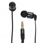 AWEI 3.5 mm In-ear Cushion Style Stereo Earphone - Black