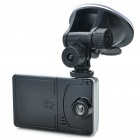"300KP Wide Angle Car DVR Camcorder w/ Min USB/SD Slot (2.7"" LTPS LCD/4GB SD Card)"