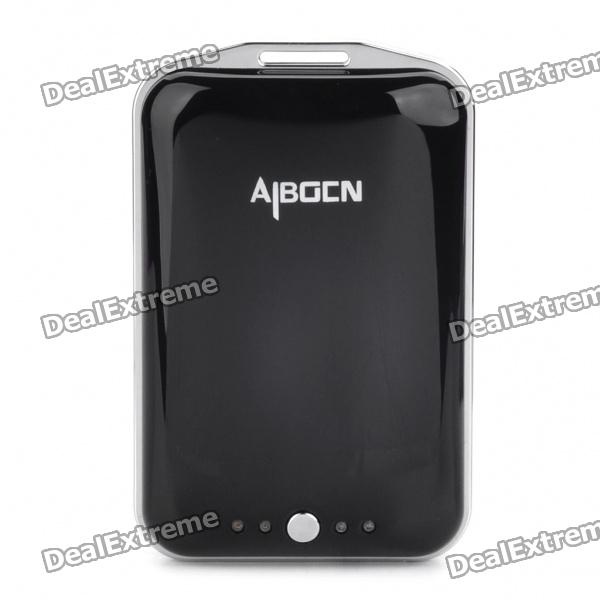 AIBOCN USB Rechargeable 3000mAh Emergency Battery Charger w/ 8 Adapters for Cell Phone + More