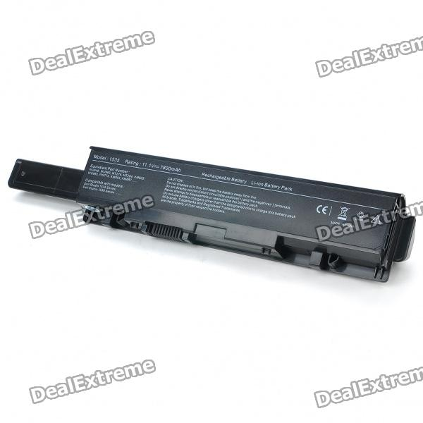 Replacement 1535 11.1V 7800mAh Laptop Battery for Dell Studio 1535/1536/1537/1555/1557 Series