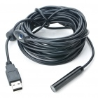 Waterproof USB 2.0 300KP CMOS 4-LED Illuminated Snake Camera Endoscope (7M-Length)