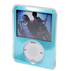 Crystal Protective Case for New 3rd Gen Video Capable Ipod Nano (Blue)
