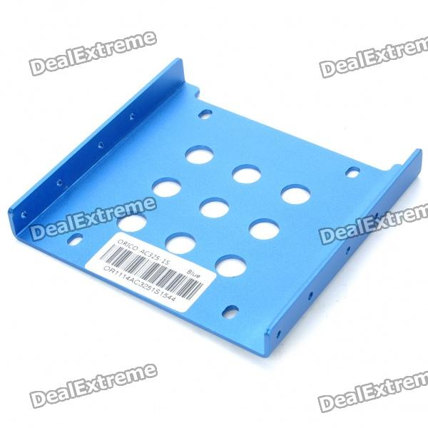 "ORICO Aluminum Alloy 2.5"" SSD HDD to 3.5"" Drive Rack Bracket - Blue"
